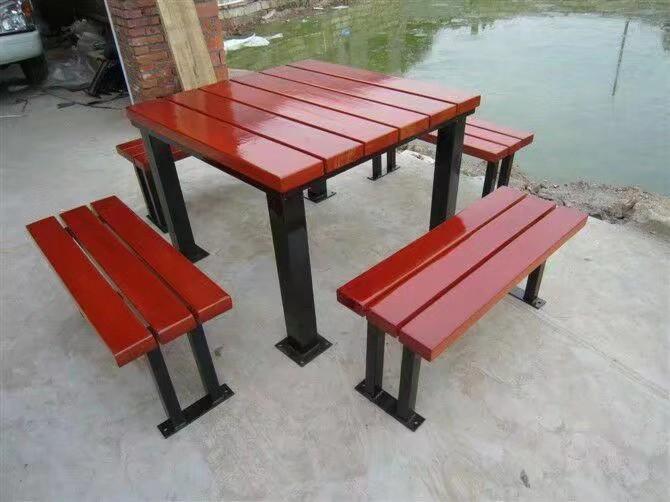 北京公园椅|组合桌椅ZH-006