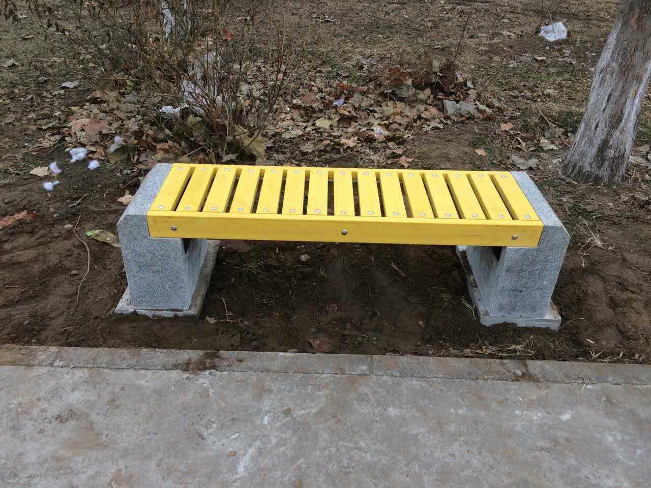 保定园林椅|石材座椅SC-014