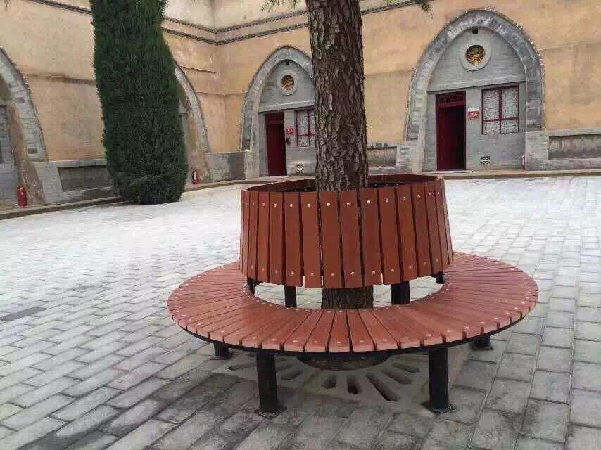 新疆公园椅|围树座椅KW-004