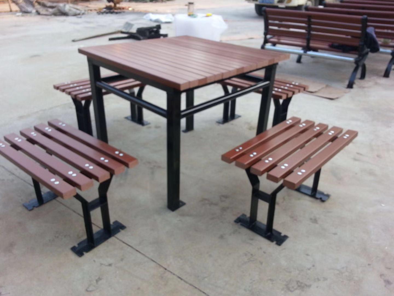 河南园林椅|组合桌椅ZH-008