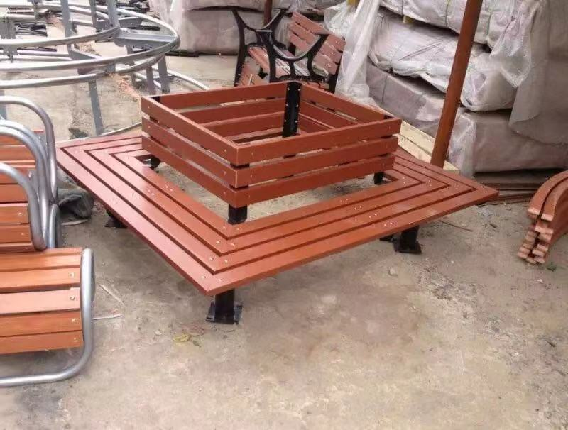 太原公园椅|围树椅KW-001
