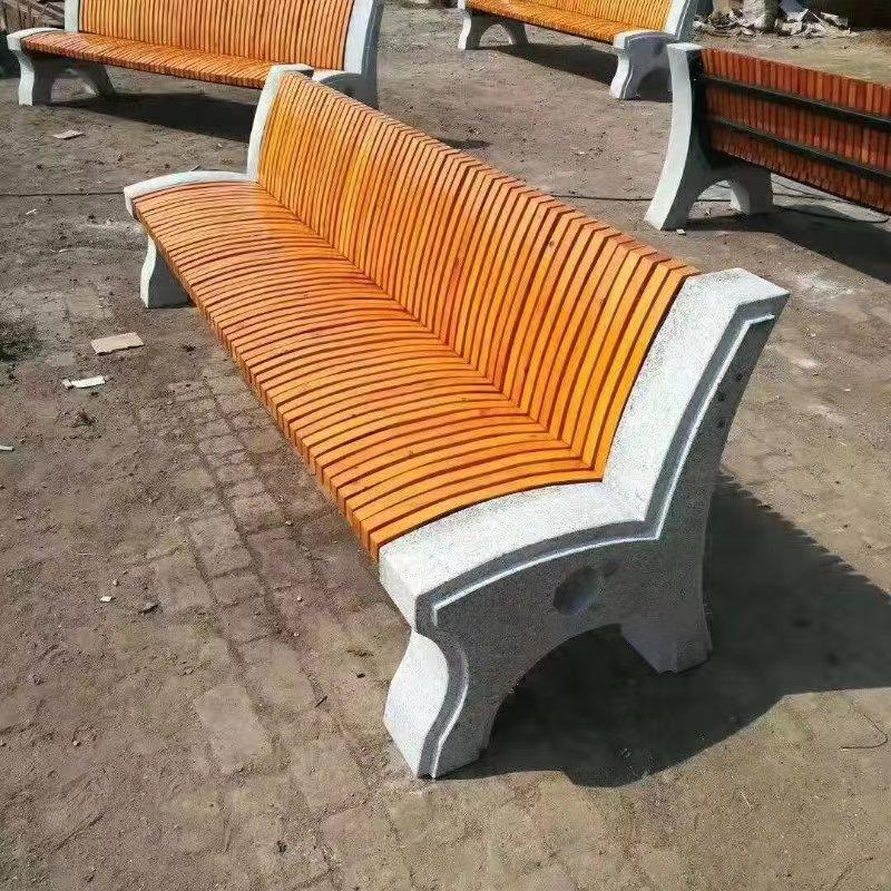 辽宁园林椅|石材座椅SC-005