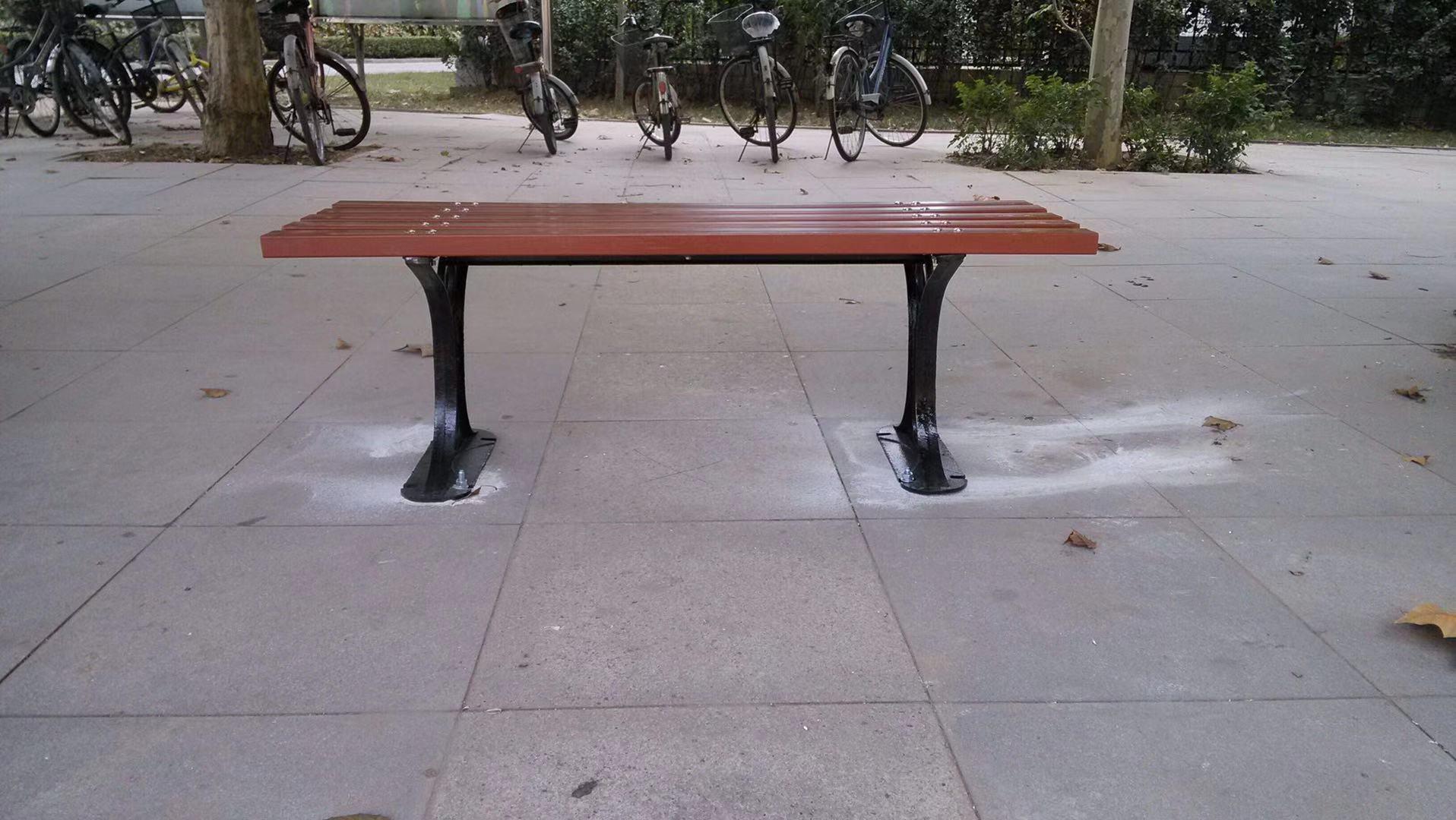 河北公园椅|平椅PT-001B