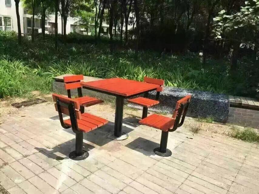 甘肃园林椅|组合桌椅ZH-004